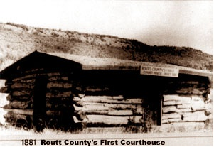 Routt County Courthouse 1881